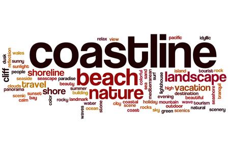 coastline: Coastline word cloud