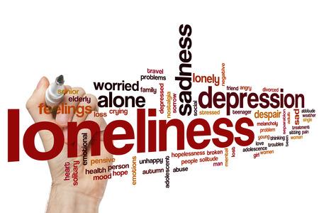 soledad: Soledad nube de palabras