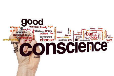 conscience: Conscience word cloud