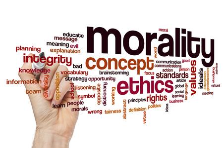 morality: Morality word cloud
