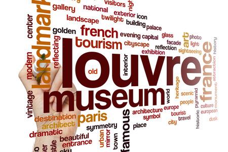 louvre: Louvre word cloud