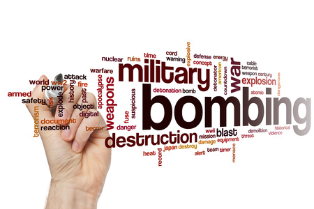 bombing: Bombing word cloud