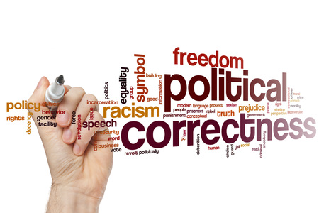 political and social issues: Political correctness word cloud
