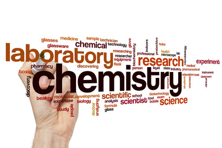 clinical research: Chemistry word cloud