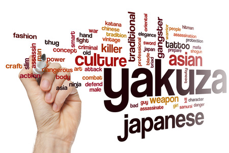 assassinate: Yakuza word cloud