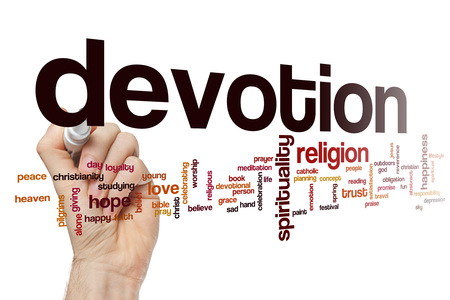 the devotion: Devotion word cloud