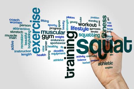 squat: Squat word cloud