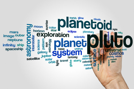 pluto: Pluto word cloud