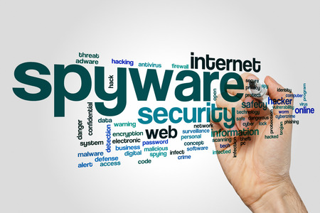 spyware: Spyware word cloud