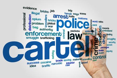 drug dealers: Cartel word cloud