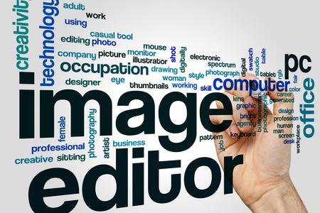 editor: Image editor word cloud