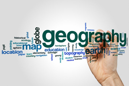 geography: Geography word cloud