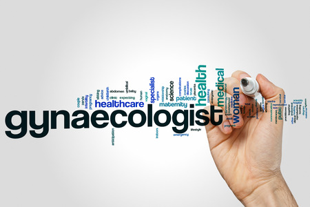 gynaecologist: Gynaecologist word cloud concept