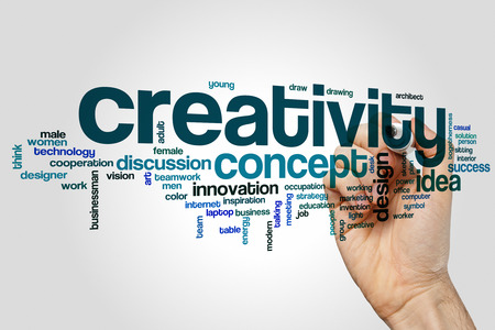 creativity: Creativity word cloud