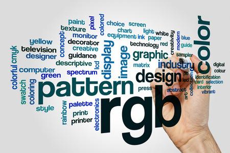 rgb: RGB word cloud