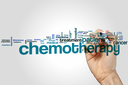 radiation therapy: Chemotherapy word cloud concept