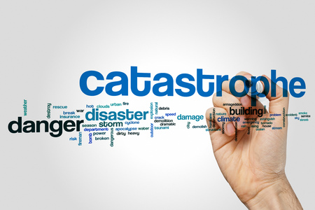 Catastrophe word cloud