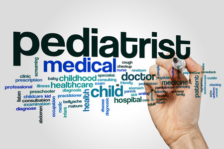 pediatrist: Pediatrist word cloud concept