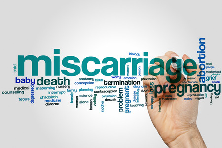 birth prevention: Miscarriage word cloud concept