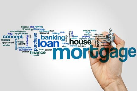 lender: Mortgage word cloud concept
