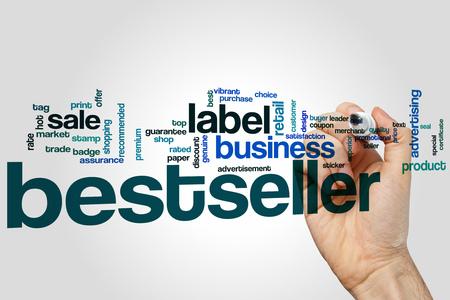 bestseller: Bestseller word cloud concept