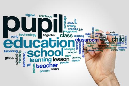 pupil: Pupil word cloud
