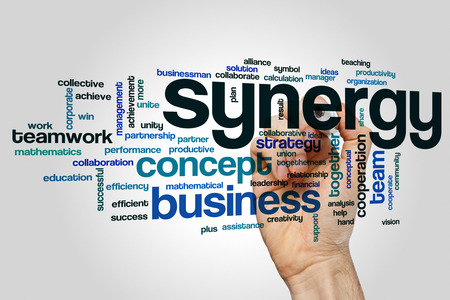 sinergia: Sinergia nube de palabras