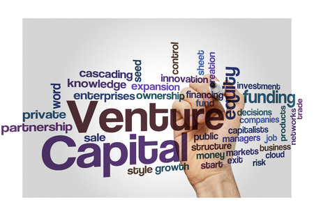 equity: Venture capital equity funding investor concept background