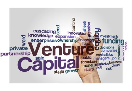 equidad: Venture capital propio concepto de financiaci�n de los inversores de fondo Foto de archivo