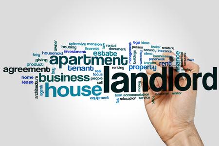 landlord: Landlord word cloud concept