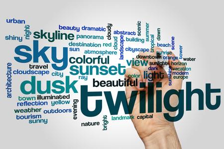 twilight: Twilight word cloud