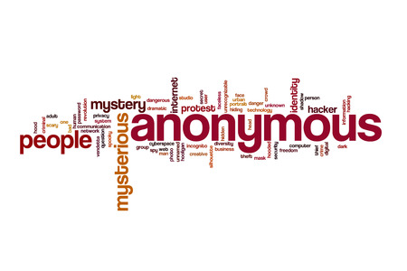 anonymous: Anonymous word cloud