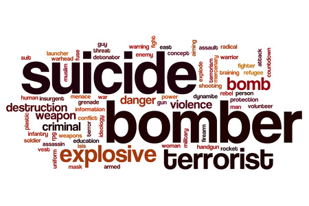 bomber: Suicide bomber word cloud