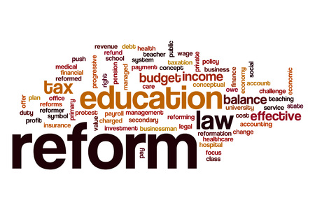 Reform word cloud