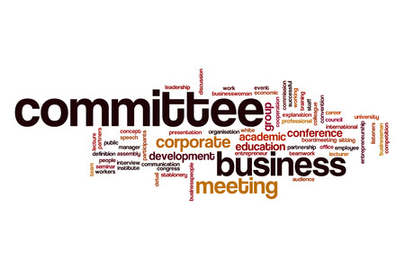 comit� d entreprise: Committee word cloud