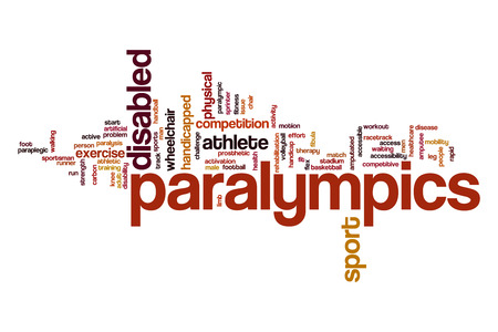 Paralympics word cloud