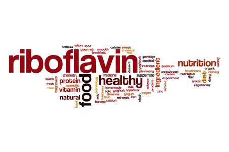 riboflavin: Riboflavin word cloud