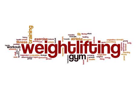 weightlifting: Weightlifting word cloud