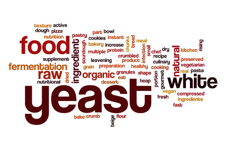 leavening: Yeast word cloud