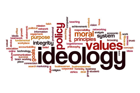 belief system: Ideology word cloud
