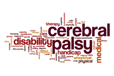 cerebral palsy: Cerebral palsy word cloud