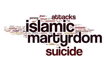 fanatic: Islamic martyrdom word cloud