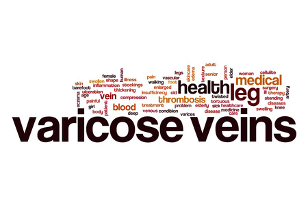 varicose veins: Varicose veins word cloud