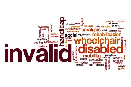 paraplegic: Nube de la palabra no v�lida