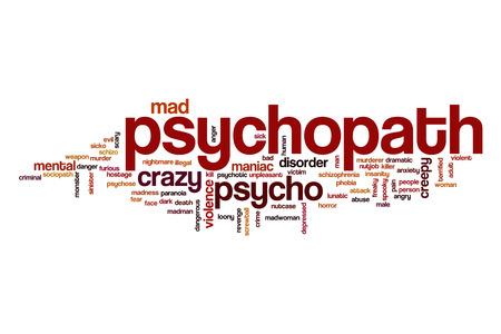 psychopath: Psychopath word cloud
