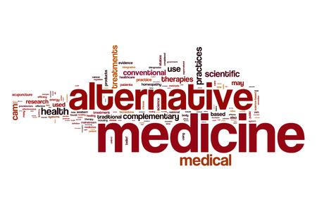 Alternative medicine word cloud