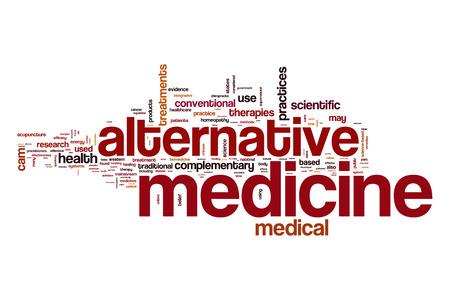 Alternative Medizin Wortwolke