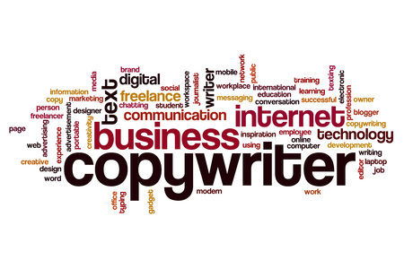 Copywriter word cloud