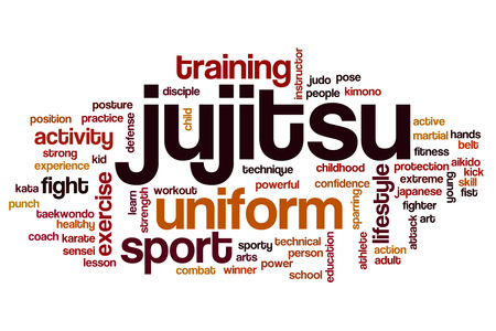 jujitsu: Jujitsu word cloud
