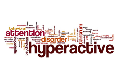 young add: Hyperactive word cloud